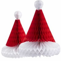 thumb-Kerstmuts honeycomb (2 stuks)-1