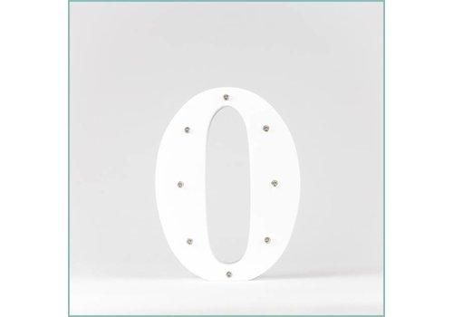 Marque-table chiffre