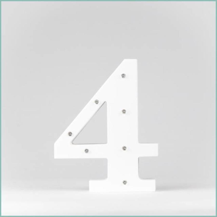 Marque-table chiffre-5