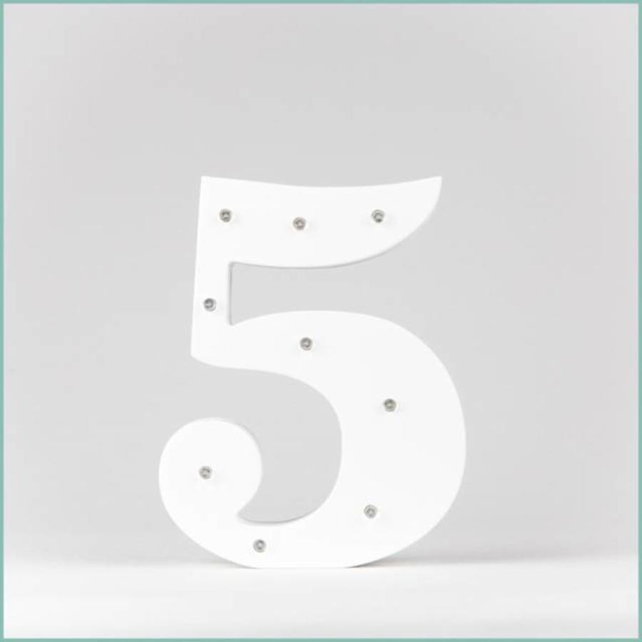 Marque-table chiffre-6