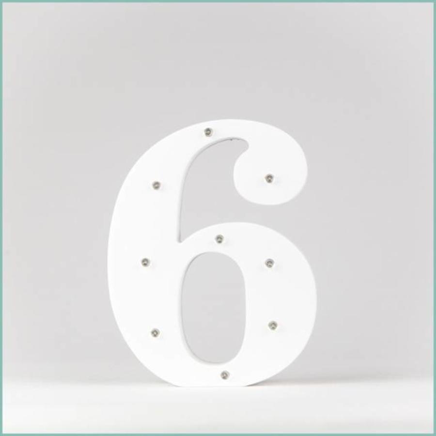 Marque-table chiffre-7