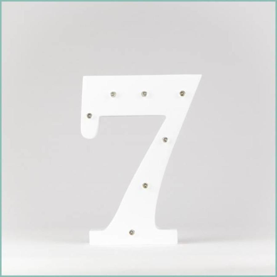 Marque-table chiffre-8