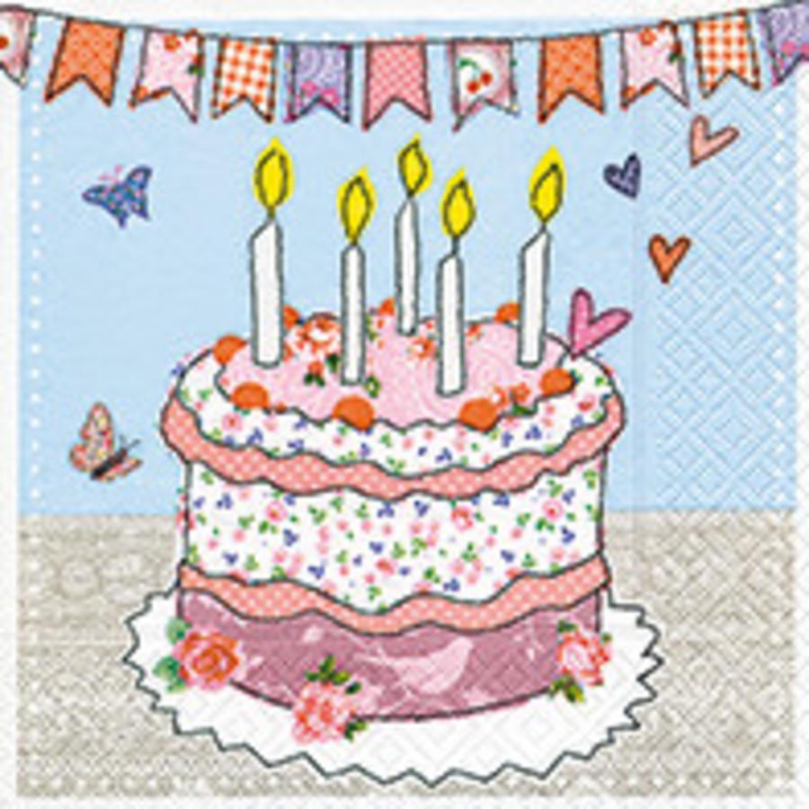 Servetten taart (20 stuks)-1