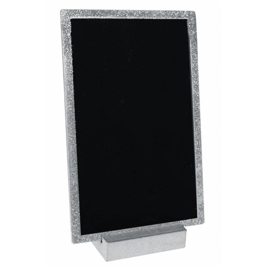 Krijtbord houder zilver-1