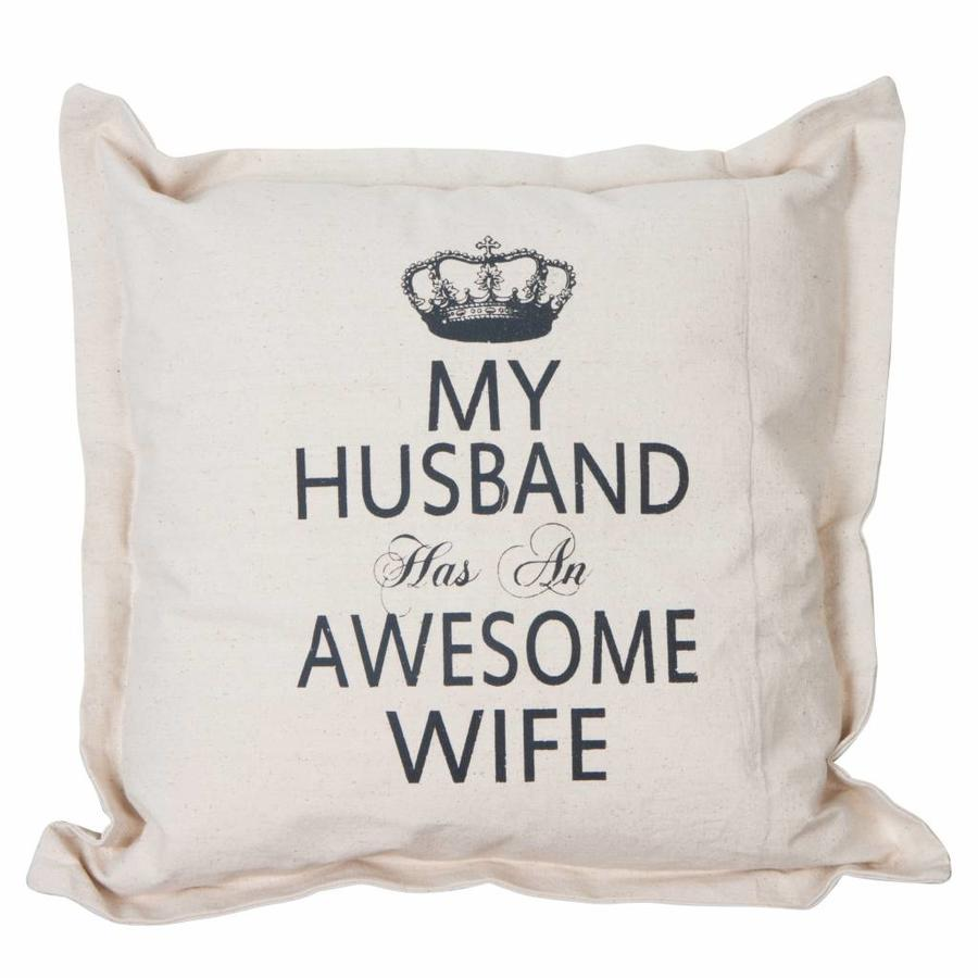 Kussen My husband has an awesome wife-1