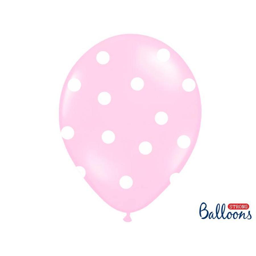 Roze ballonnen olifant (6 stuks)-3
