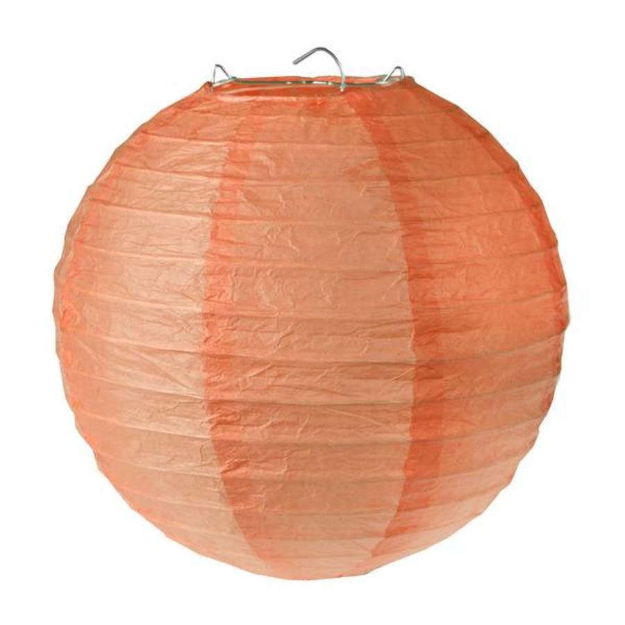 Lampion koraal diameter 30 cm (2 stuks)-1