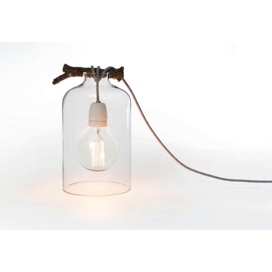 Glazen stolplamp Raumgestalt