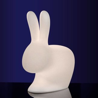 Qeeboo Konijnlamp Rabbit chair met ledverlichting outdoor