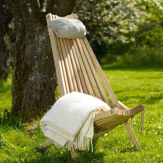 EcoFurn Tuinstoel Ecochair incl. hoofdkussen
