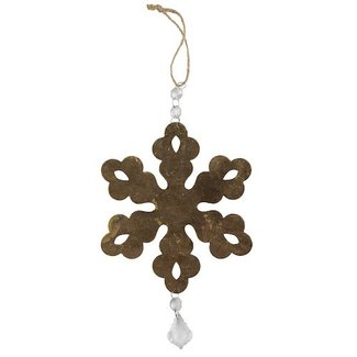 BePureHome Ornament antique brass L