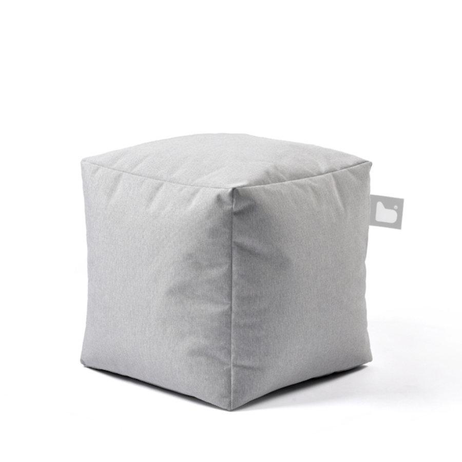 VIERKANTE POEF OUTDOOR B-BOX PASTEL