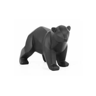 Present Time Zwart beeldje beer klein