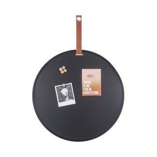 Present Time Rond Memo bord van staal met magneten