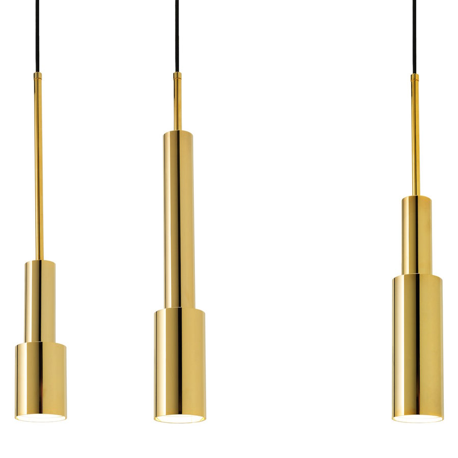 HANGLAMP SKYLIGHT TOWER THREE - GOUD