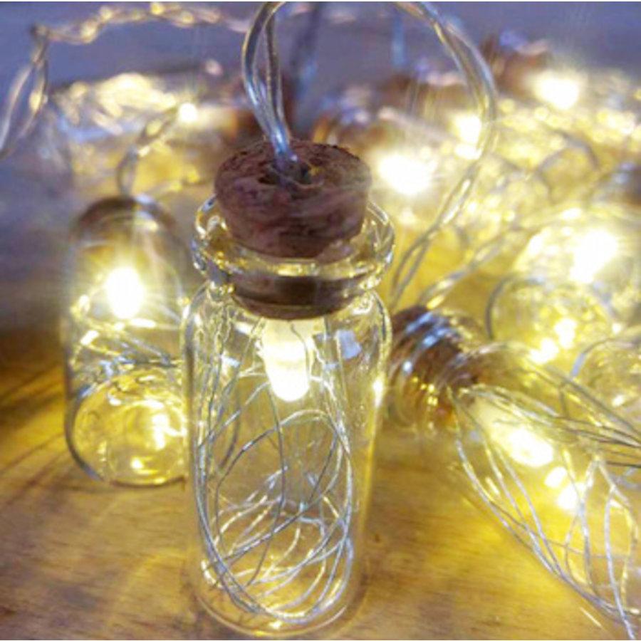 LICHTSNOER ZILVER MINI-LIGHTS