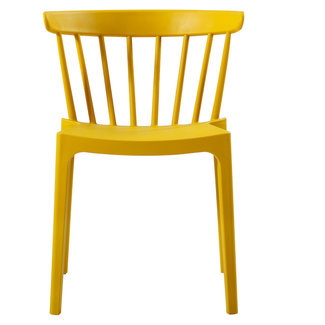 Woood Okergele stoel BLISS  (binnen en buiten)