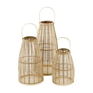 pomax Windlicht bamboe