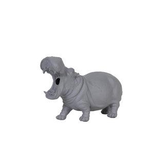 Light & Living Nijlpaard lamp Hippo grijs