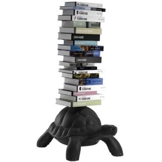 Qeeboo Turtle Carry Bookcase  zwart