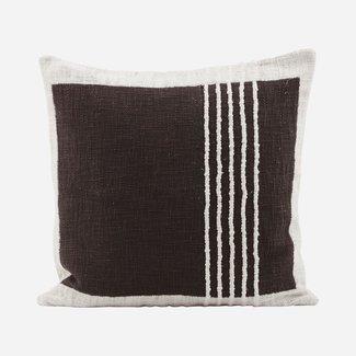 House Doctor Kussenhoes 50 x 50 cm Yarn brown