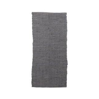 House Doctor Vloerkleed Chindi grijs 160x70