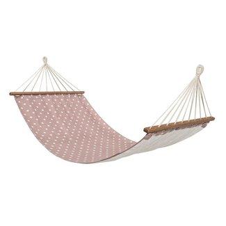 Bloomingville Roze Hangmat wit roze stippen