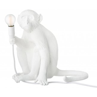 Seletti Aap lamp monkey sitting