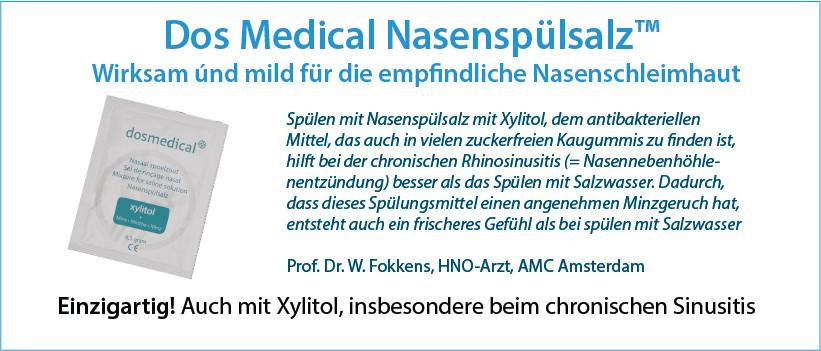Dos Medical Nasenspulsalz - Prof. Fokkens