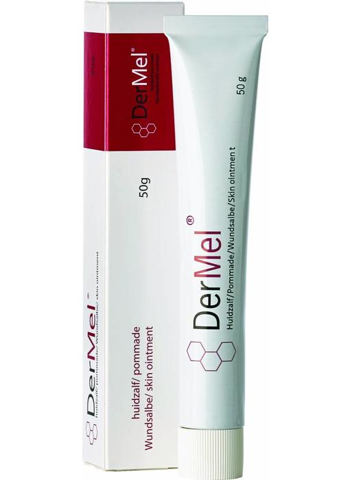 DerMel® huidzalf  -  te bestellen via www.dermatologie-winkel.nl