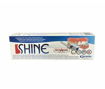 Nitradine tandpasta voor anti-snurkbeugel