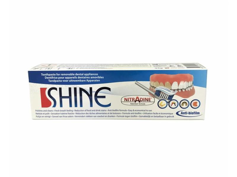 Nitradine Shine - toothpaste for anti-snoring devices