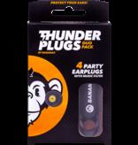 Thunderplugs earplugs - 2 pieces