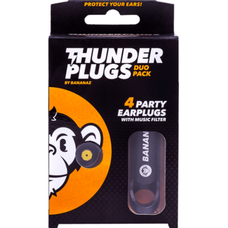 Thunderplugs earplugs - 2 pair