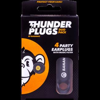 Thunderplugs Ohrstöpsel - 2 Paar
