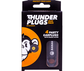 Thunderplugs earplugs - 2 pair