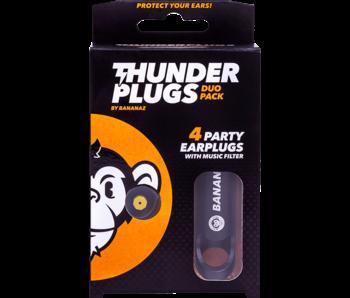 Thunderplugs oordoppen -  2 paar