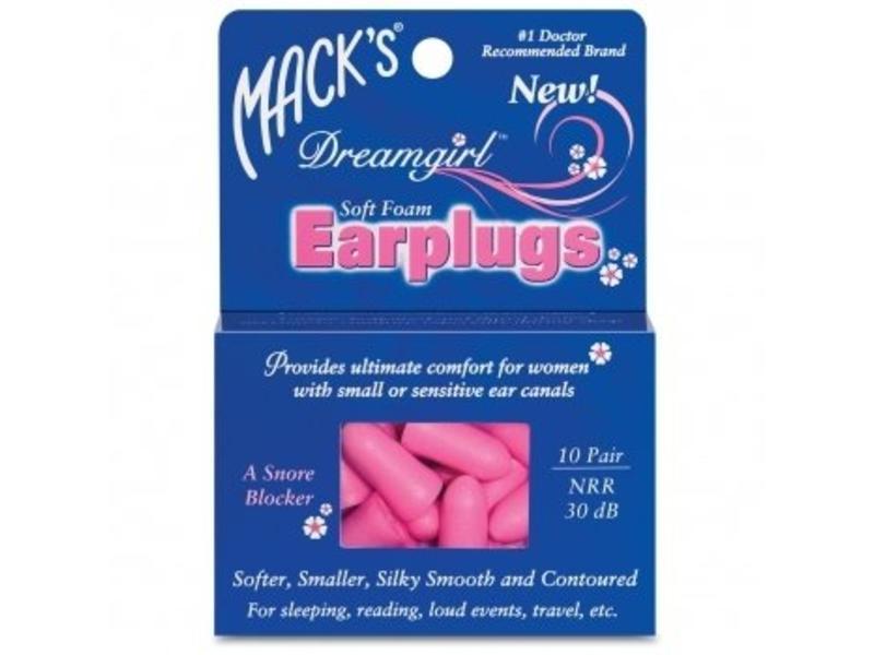 Mack's dreamgirl smalle oordopjes voor dames en kinderen