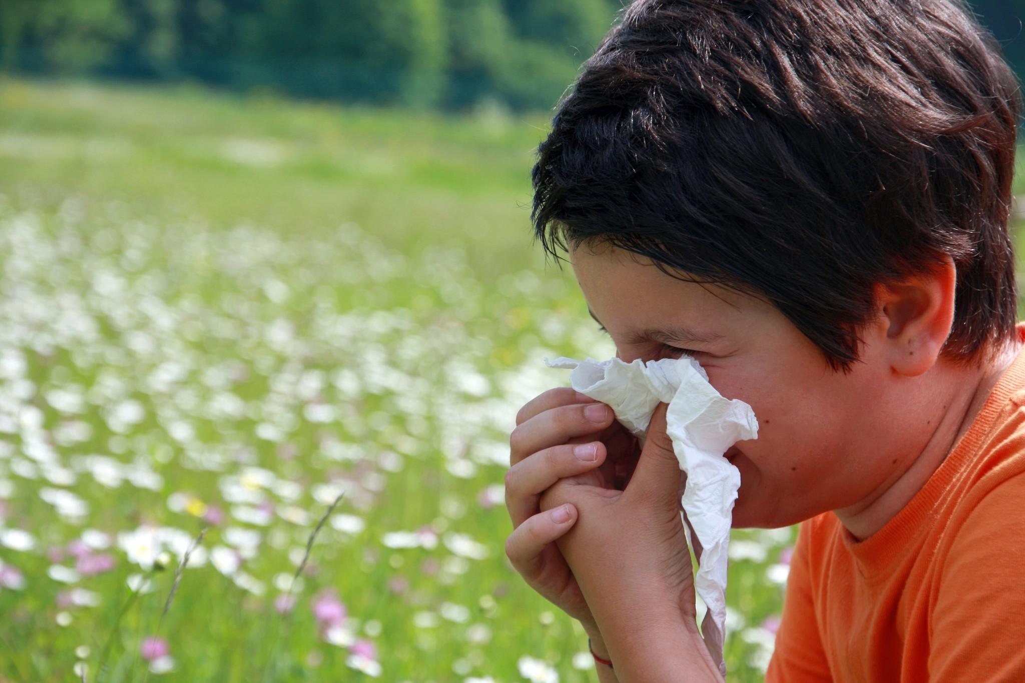 RhinoBlock® allergieblokker.  Neuszalf die direct beschermt bij hooikoorts