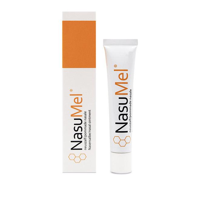 NasuMel NasuMel® Nasensalbe mit medizinischem Honig