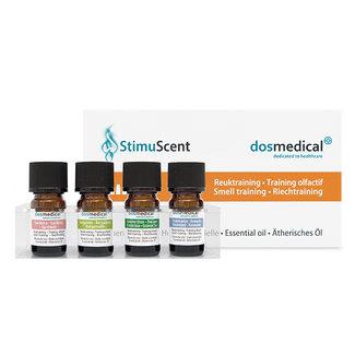 StimuScent reuktraining DOS Medical Odor training Dos Medical SET3