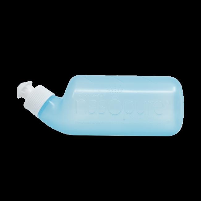 Nasopure® nasal douche with nasal rinse salt