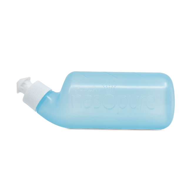 Nasopure® Nasendusche mit nasaler Spülen mit Salzlösung