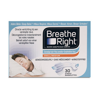 Breathe Right clear 30 stuks