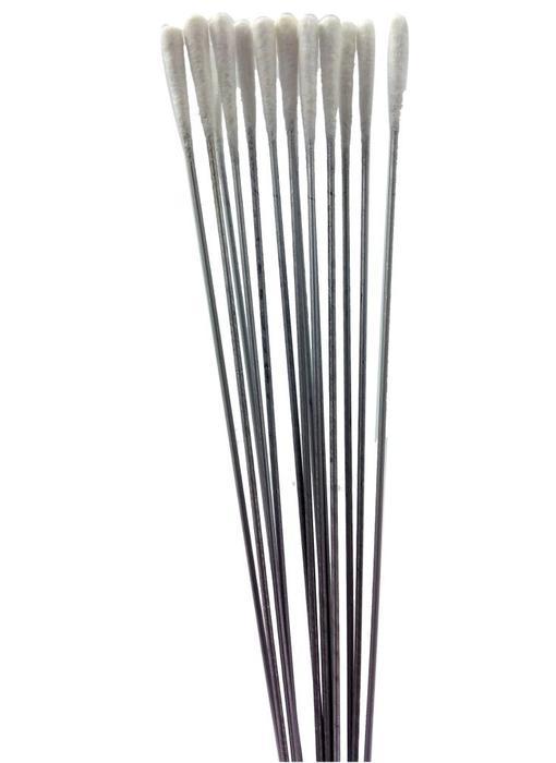 Metal cottontips. Length 15 cm. (100 PCS)