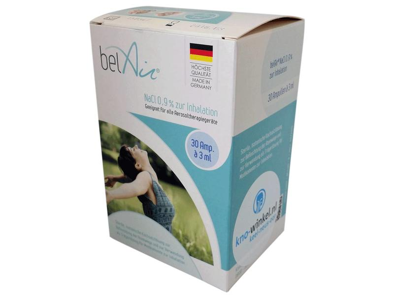 Inhalatievloeistof voor stembandvernevelaar en KNO nasale vernevelaar