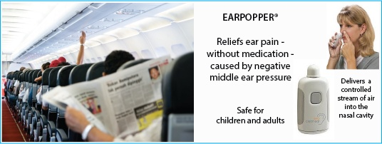Earpopper - reliefs ear pain