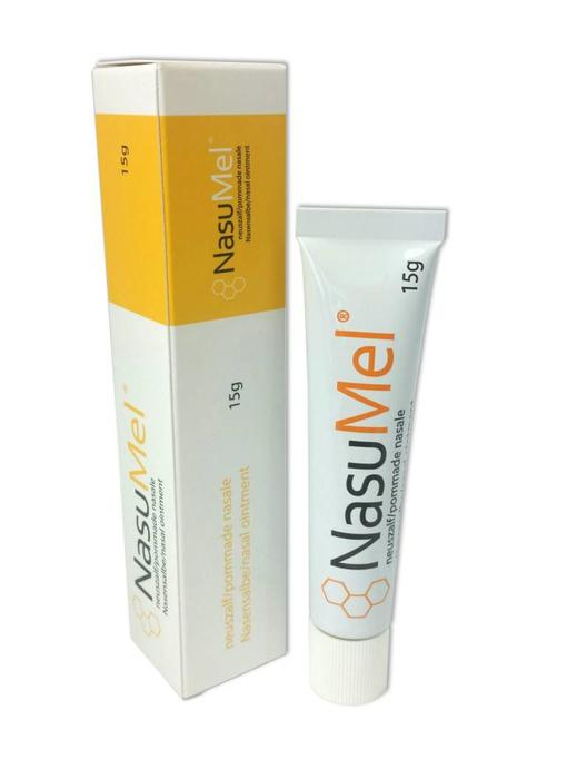NasuMel®, nasal ointment with medical-grade honey