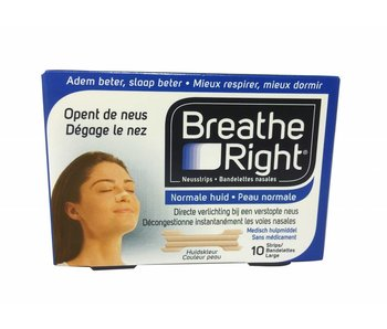 Breathe Right nasal strip - 10 pcs