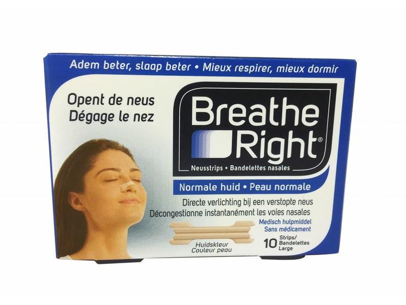 Breathe Right nasal strip - 10 pcs
